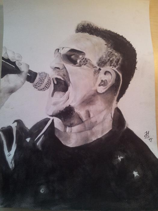 Bono by rockart
